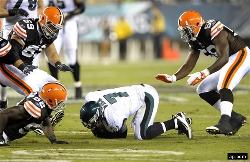 Vick caption browns