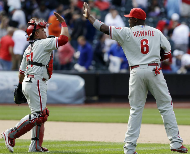 Philadelphia Phillies at New York Mets - April 28, 2013 - MLB.com Photos